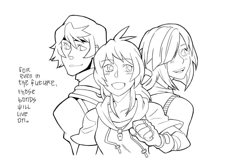 Descendants Group Ink by Kurasato
