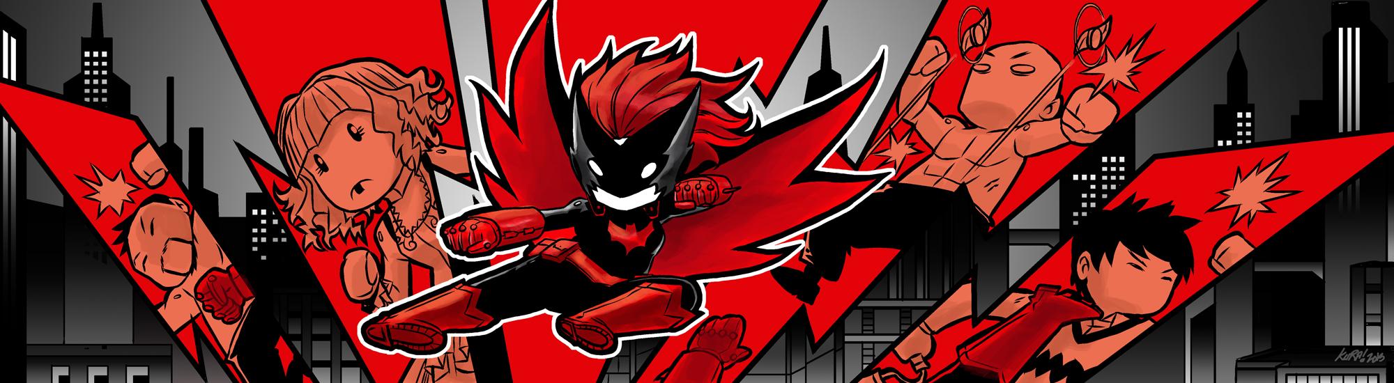 Batwoman by Kurasato