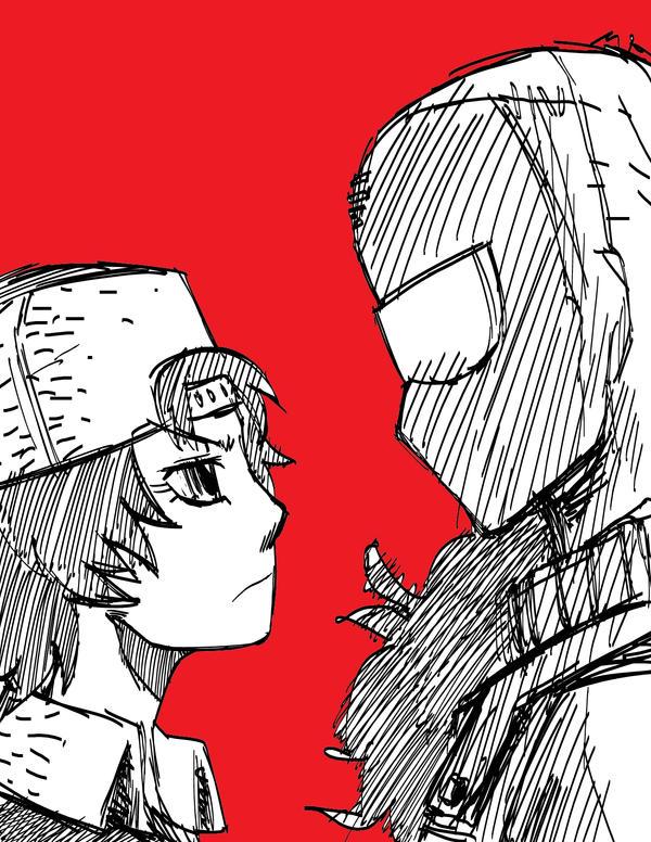 Kidami and Gu AU Style by Kurasato
