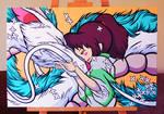 Haku and Chihiro, Spirited Away