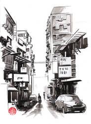 street view at Taipei