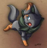 New Pokemon Zorua by Sango90