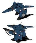 Veritech VF-1 Darkbird ( Guardian)