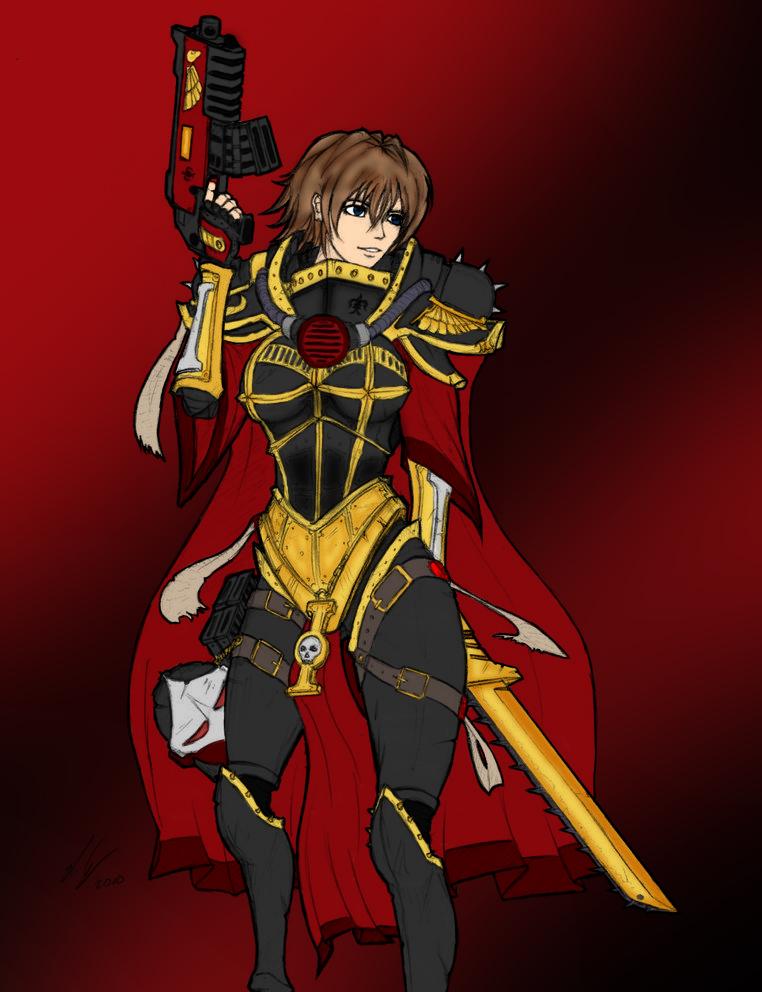 sister of battle by kevarin