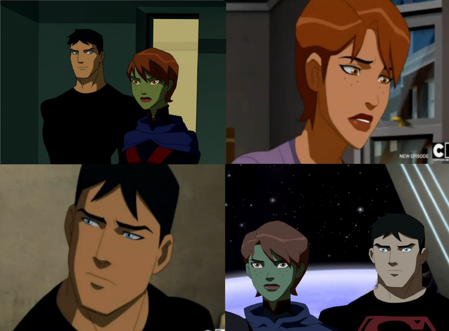 Young Justice Megan And Superboy Fanfiction | www ...