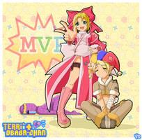Terri and Obaba-chan by YankeeDoodlesArt