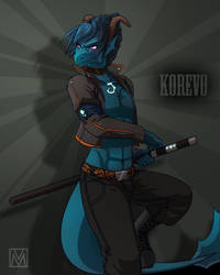 Commission: Leviathan Korevo by YankeeDoodlesArt