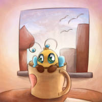 Bee in a Cup