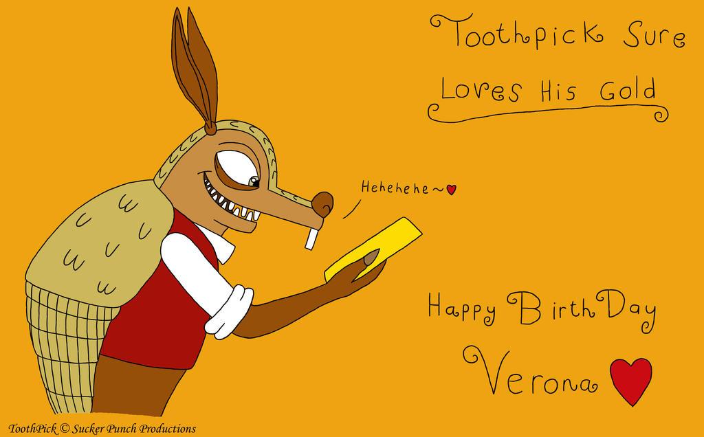 Birthday Gift for Verona7881 by BlueFireVixon