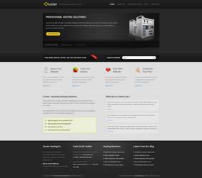 Cluster Hosting Template by EnovaStudio