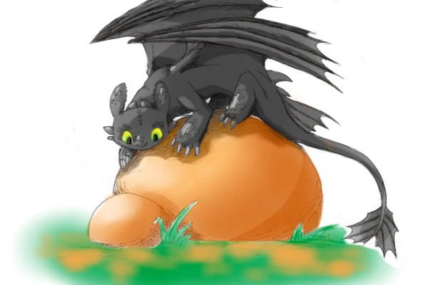 Toothless nyaaan-coloured by Dogmaniac
