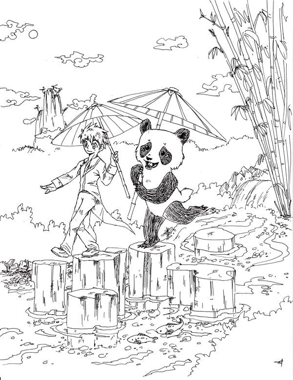 Panda panda by Dogmaniac