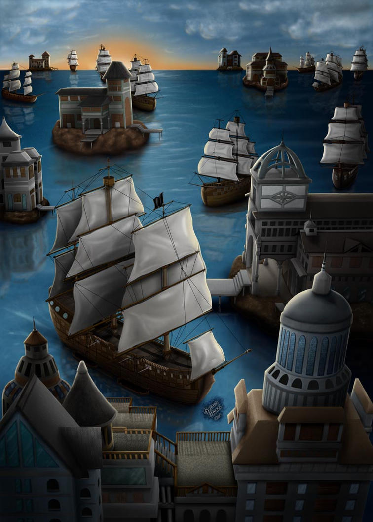 Ships by Geison