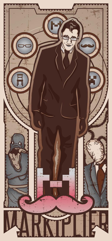 Markiplier Poster by Cyber-9