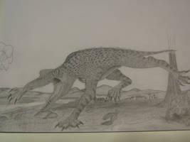 Xenogopteryx by spinosaurus1