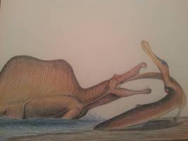 irritator challengeri by spinosaurus1