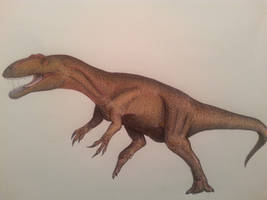 the ruler that withheld the tyrants by spinosaurus1