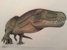 Garjainia madiba by spinosaurus1