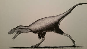 teratophoneus curriei by spinosaurus1