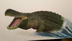 purussaurus WIP by spinosaurus1