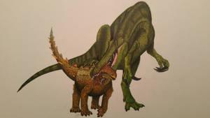 Aussie spinosaurid