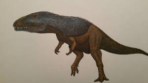 sauroniops pachytholus by spinosaurus1