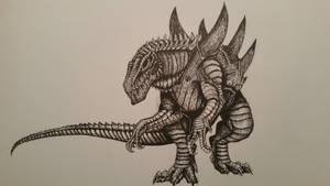 Zilla by spinosaurus1