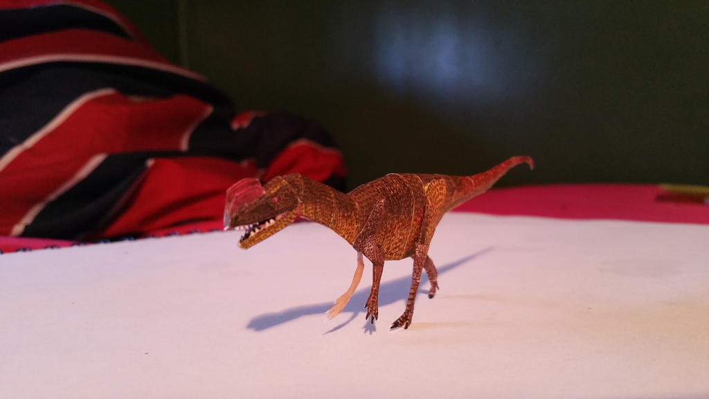 Sinosaurus Paper Model WIP 7 By Spinosaurus1