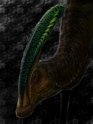 Parasaurolophus walkeri by spinosaurus1
