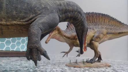 squaring up by spinosaurus1