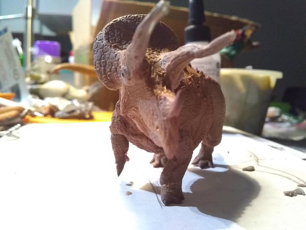 Trike WIP 4 by spinosaurus1