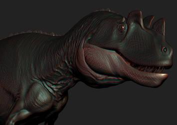 ceratosaurus zbrush by spinosaurus1