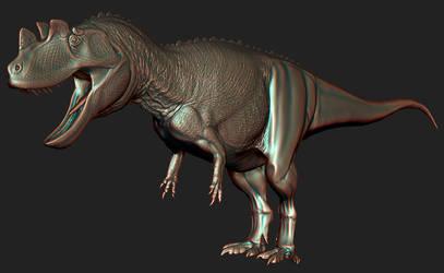 ceratosaurus progress by spinosaurus1