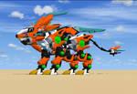 Zero Schneider MK 1st desert test by 3DZoid