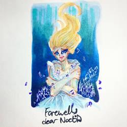 Farewell, dear Noctis - FFXV fanart by leziodelala