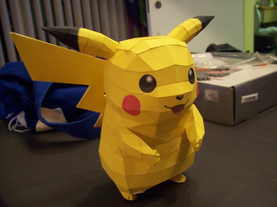 Pikachu Papercraft By Dreamer1005