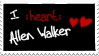 I :heart: Allen Walker by Kimariwarui