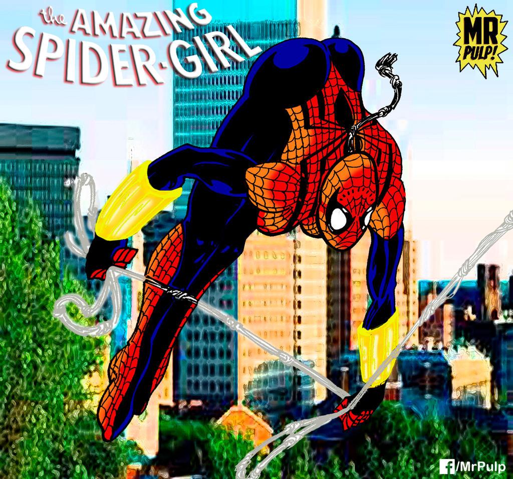 SPIDER GIRL by mrpulp-presenta