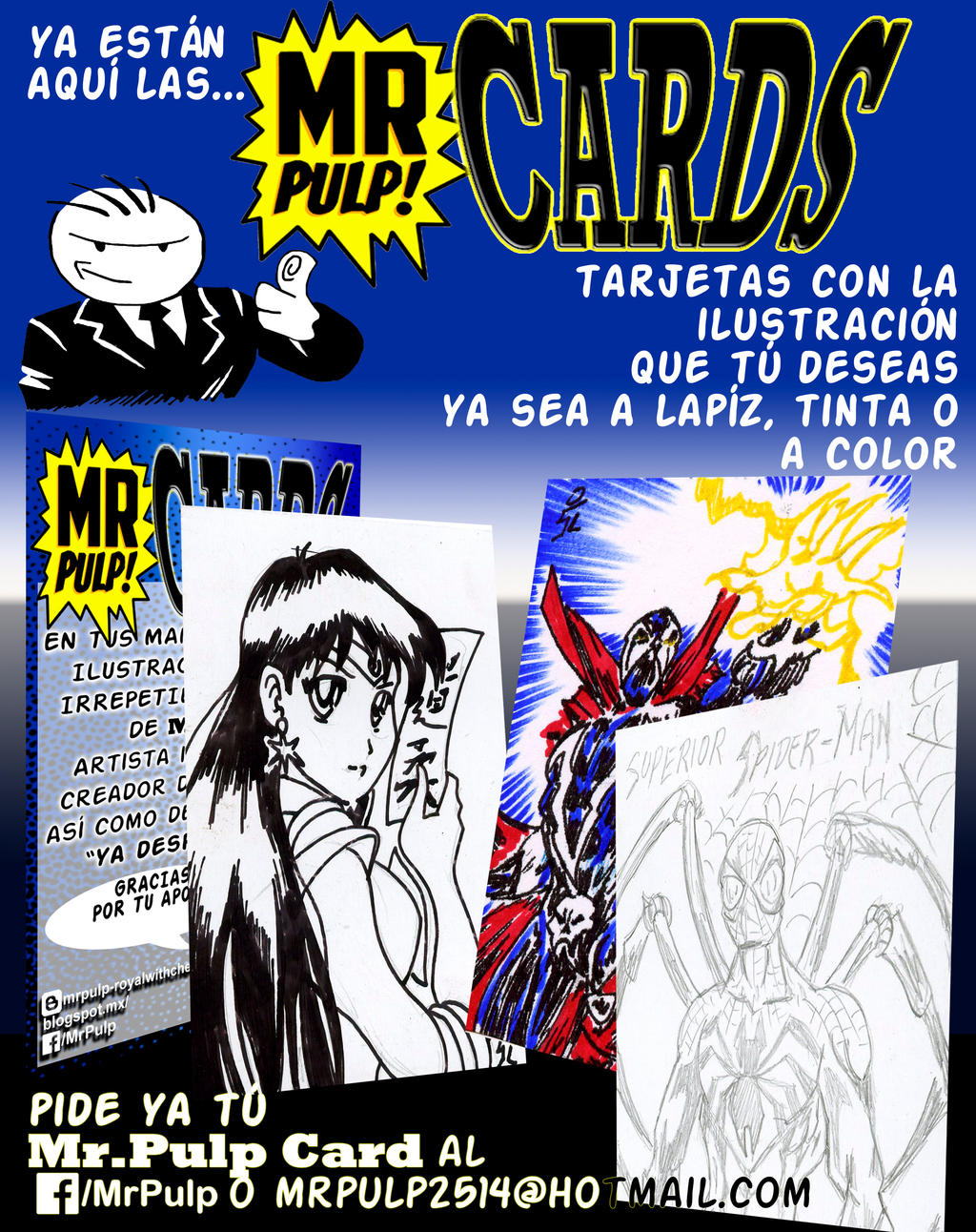 Mr.Pulp CARDS by mrpulp-presenta