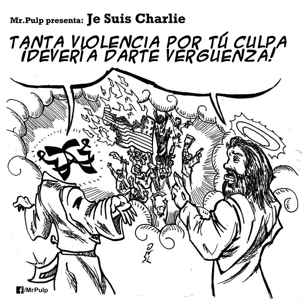 Je Suis Charlie by mrpulp-presenta