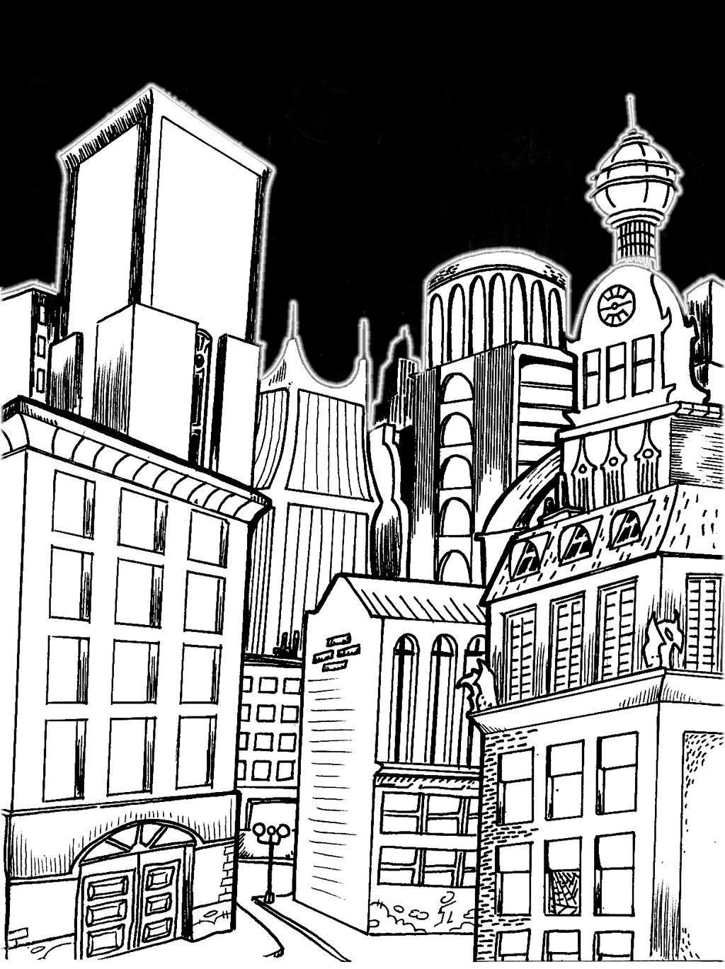 City by mrpulp-presenta