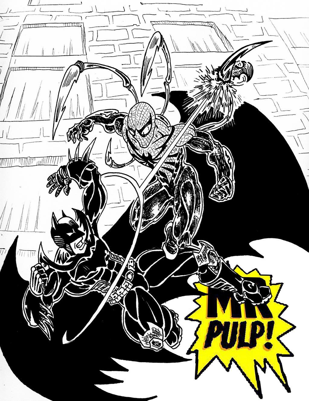 Marvel vs DC by mrpulp-presenta