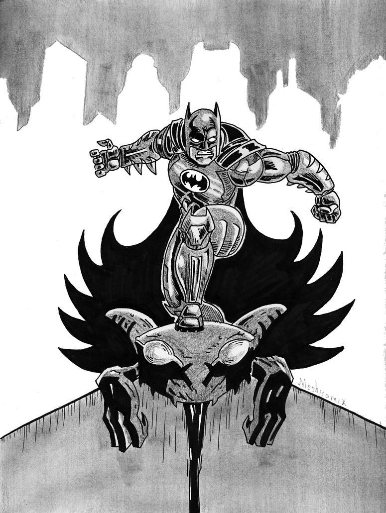 Bat-man by mrpulp-presenta