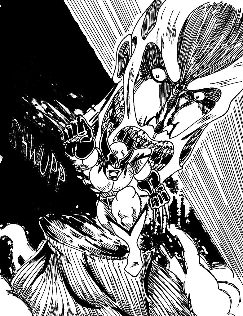 El Ataque de Wolverine by mrpulp-presenta