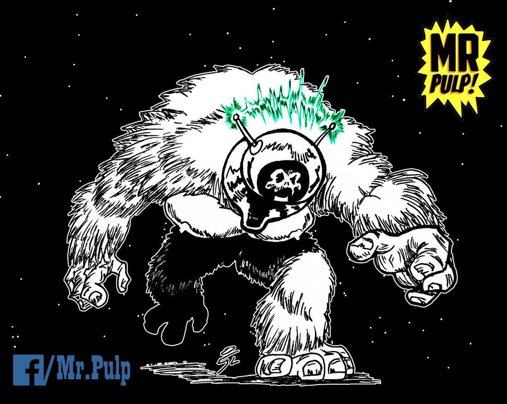 Monster Robot by mrpulp-presenta