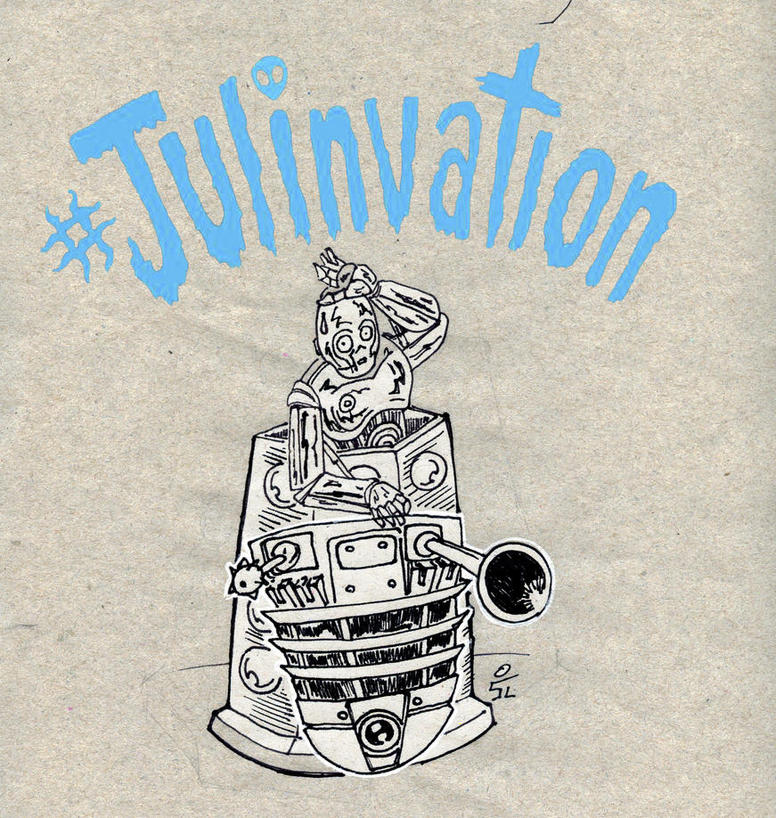 Julinvation25Dalek by mrpulp-presenta