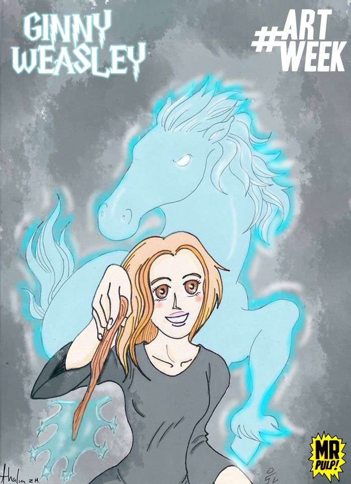Ginny Weasley by mrpulp-presenta
