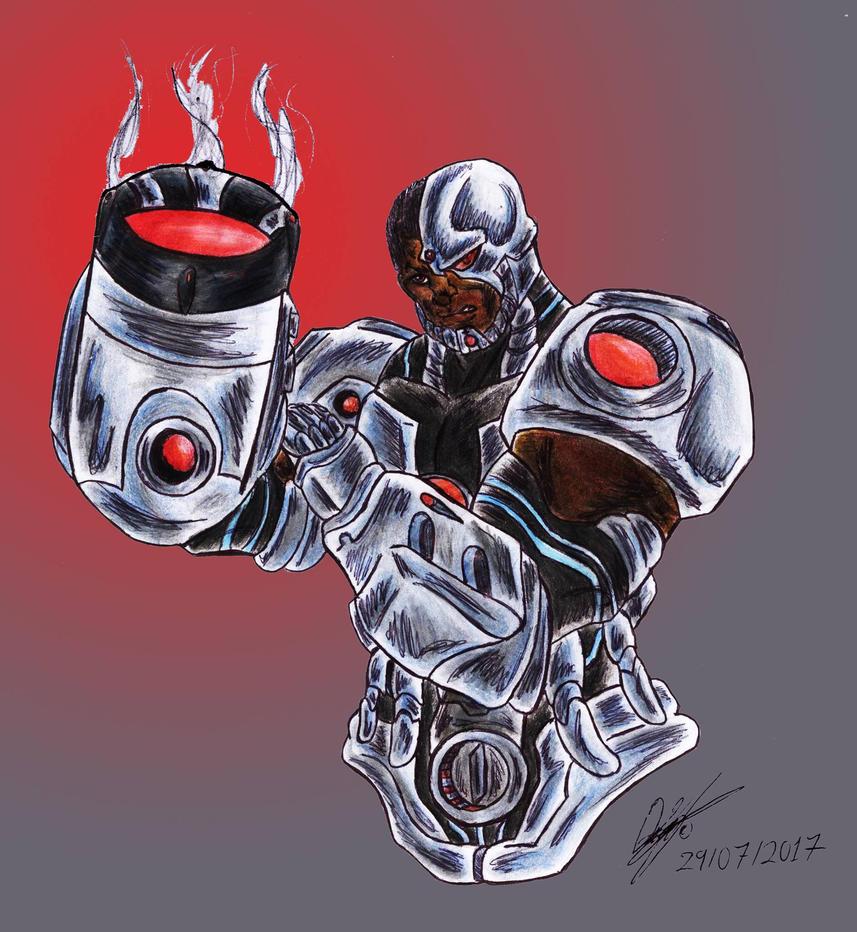 Cyborg by mrpulp-presenta