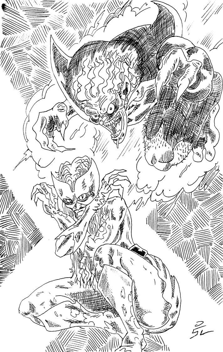 X monsters by mrpulp-presenta