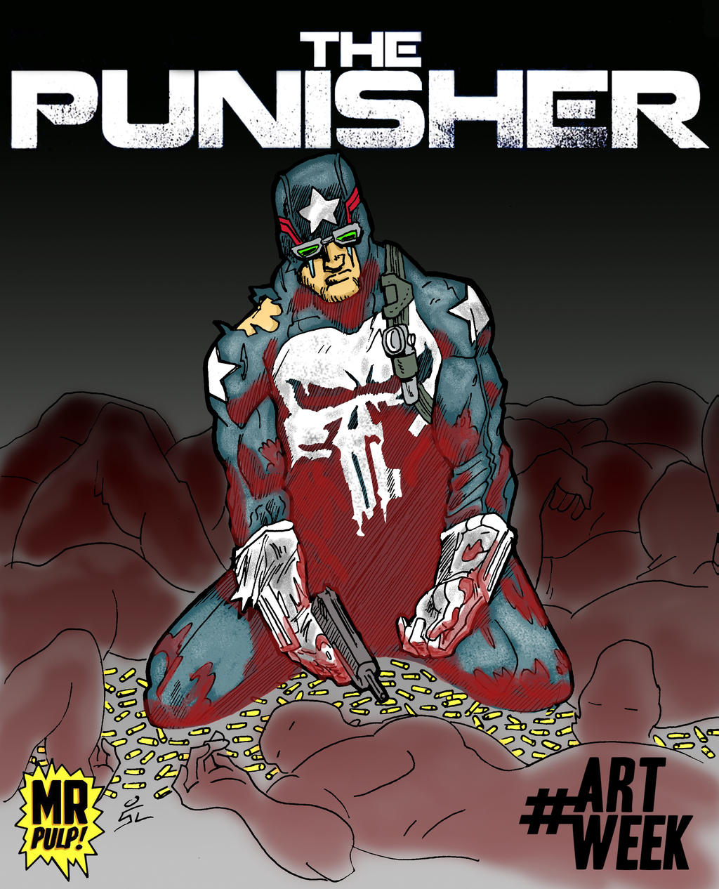 Ultimate Punisher by mrpulp-presenta